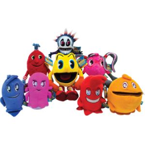 Pac-Man and the Ghostly Adventure Plush Mix 7''-11''