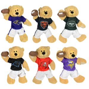 NFL Quarterback Bear Plush 14''