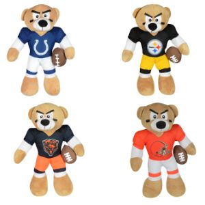 NFL Shoulder Bear Plush 12''