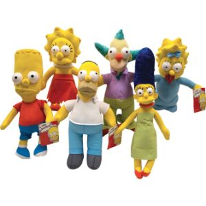 The Simpsons Plush Mix 9''-14''