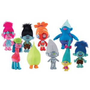 Trolls Plush Mix 9''-15''