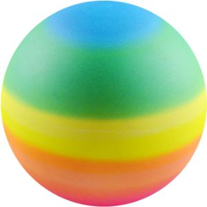 3'' Inflated Rainbow Vinyl Balls (288 pcs)