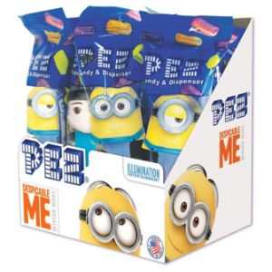 PEZ Despicable Me Dispensers Display Box (12 pcs)