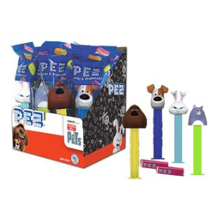 PEZ Secret Life of Pets Dispensers Display Box (12 pcs)