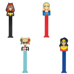PEZ DC Girls Dispensers Display Box (12 pcs)