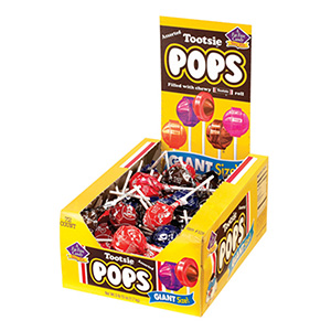 Tootsie Pops Giant Pops Display Box (72 pcs)