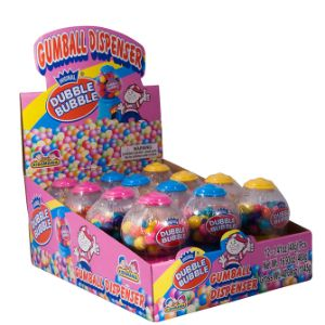 Dubble Bubble Mini Gumball Machine Display Box (12 pcs)