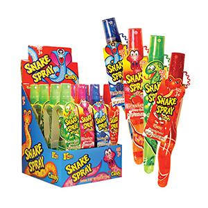 Snake Spray Candy Display Box (16 pcs)