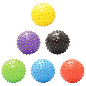 5in Inflatable Painted Tip Knobby Balls (100 pcs)