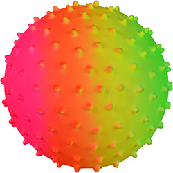5'' Inflatable Rainbow Knobby Balls (100 pcs)