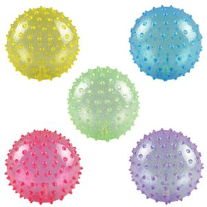 5'' Inflatable Glitter Knobby Balls (250 pcs)