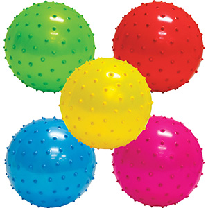 5'' Inflatable Assorted Knobby Balls (250 pcs)