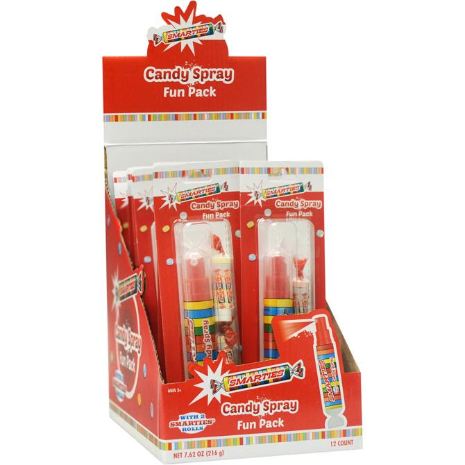 Smarties Candy Spray Fun Pack 12 Pcs