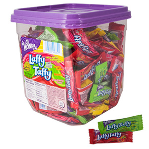 Laffy Taffy Assorted Display Tub (145 pcs)