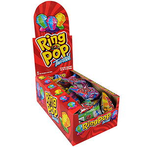 Ring Pops Twisted Display Box (24 pcs)