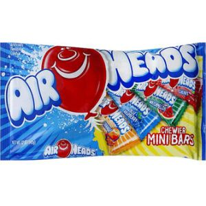 Airheads Minis 12oz Bag Assorted Flavors