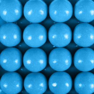 850 Count Blue Raspberry Gumballs