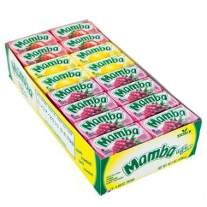 Mamba Fruit Chews Display Box (48 pcs)