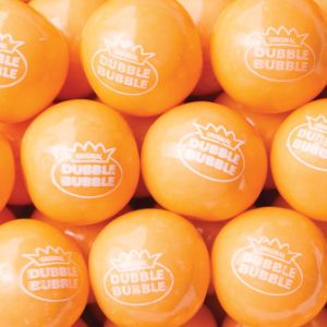 850 Count Orange Sherbet Gumballs
