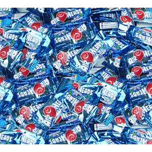 AirHeads Blue Raspberry Mini Bars - Case (1040 pcs)