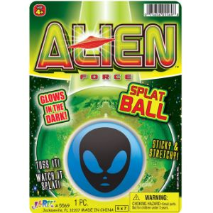 Alien Glow Splat Ball