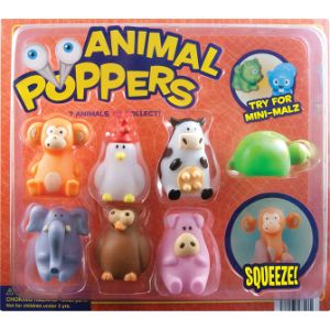 Animal Poppers Blister Display