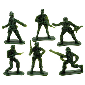 Army Soldiers 2'' (144 pcs)