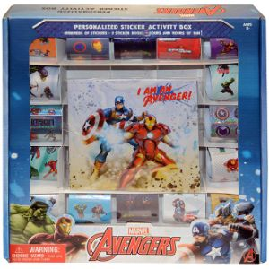 Avengers Jumbo Sticker Box