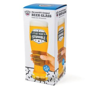 Giant Beer Glass 48oz