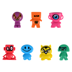Blockheadz Figurines in Bulk Bag (100 pcs)