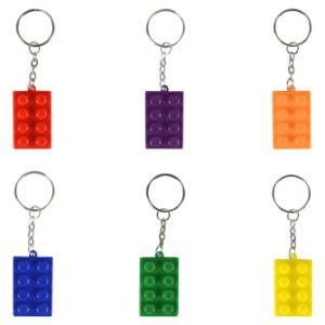 Block Mania Keychains 3.5in (12 pcs)