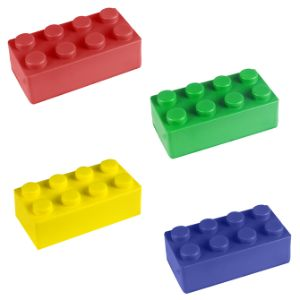 Block Mania Stress Blocks 3'' (12 pcs)