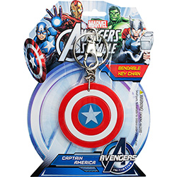 Captain America Bendable Keychain 3''