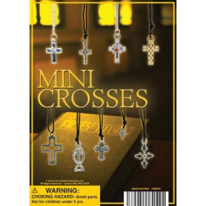 Cross Necklace Collection Display Card
