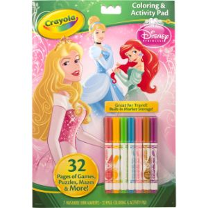 Crayola Princess Activity Pad