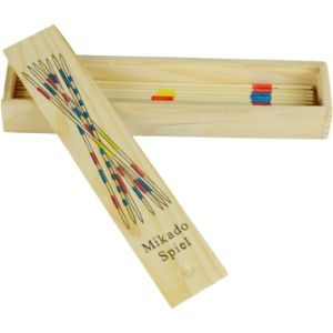 Wooden Pick Up Sticks 7in (50 pcs)