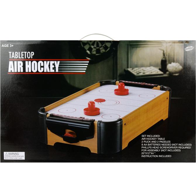 20in X 12in Tabletop Air Hockey Game