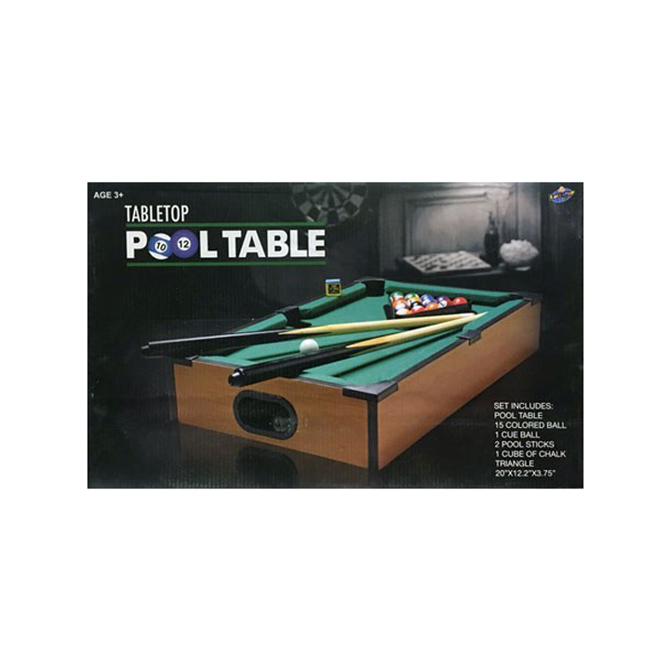 Delicieux 20in X 12in Tabletop Billiard Set