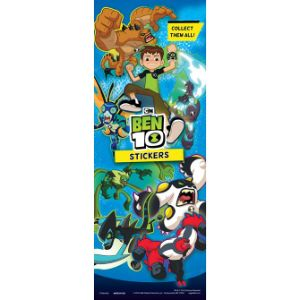 Ben 10 Stickers Display Card