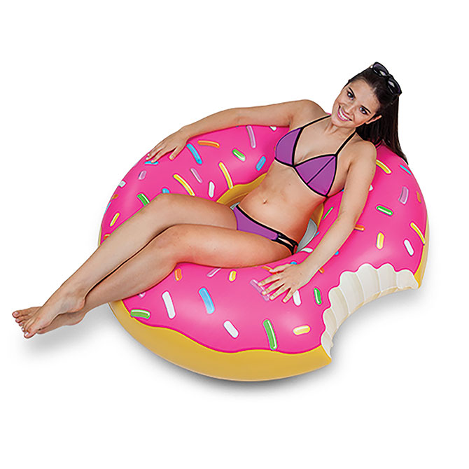 Donut Pool Float 48in A Amp A Global Industries