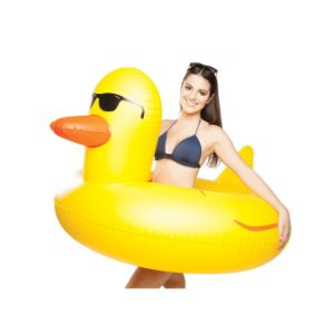 Giant Rubber Ducky Pool Float
