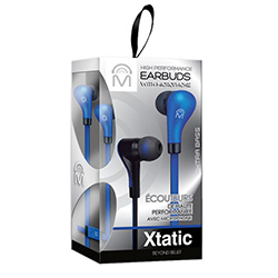 Xtatic Earbuds with Mic