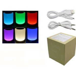 5in Clear Multifunction Color-Changing Lantern Bluetooth Speaker