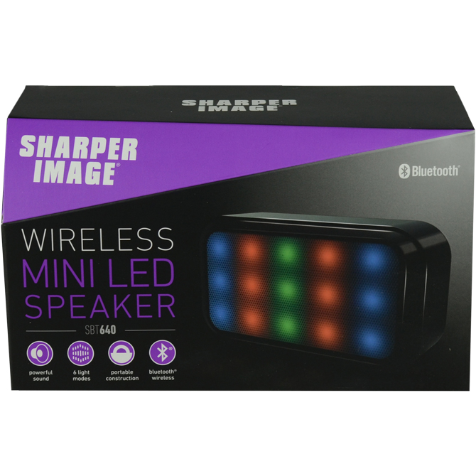 Sharper Image 55in Light Up Bluetooth Speaker Aa Global Industries
