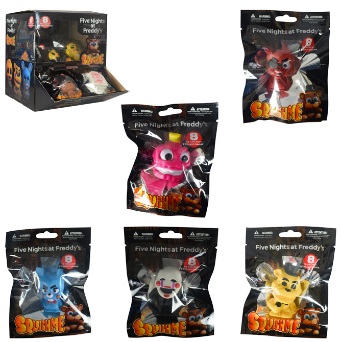 Five Nights at Freddy's Squishme Blind Bag