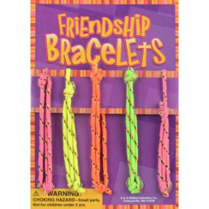 Friendship Bracelet Live Display Card