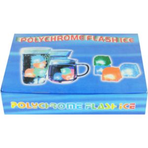 Water-Activated Flashing Multicolor Ice Cube (12 pcs)