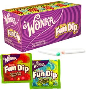 Fun Dip Cherry & RazzApple Display Box (48 pcs)   - 12 DB / Case