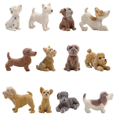 Fuzzy Friends Figurines, Series 2 in Bulk Bag