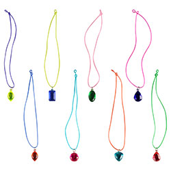 Giant Gem Necklaces in Bulk Bag (100 pcs)